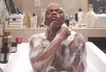 Photo of Watch somizi's  #67 minutes of self-love in the tub
