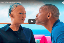 Photo of Will Smith Went on a Date With a Robot and It Was Amazingly Awkward