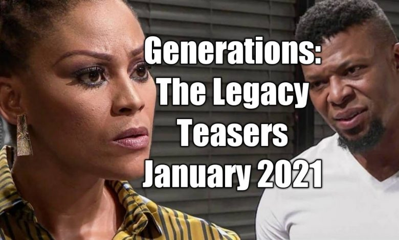 Generation The Legacy teaser January 2021