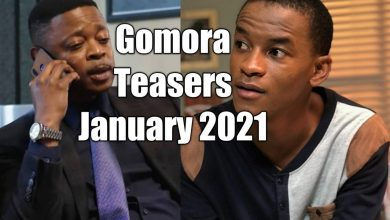 Photo of Coming Up On Gomora January 2021 [Gomora Teasers – January 2021]