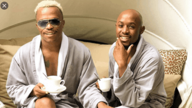 Photo of Fans Are Shocked At The Age Gap Between Somizi Mhlongo And His Husband Mohale