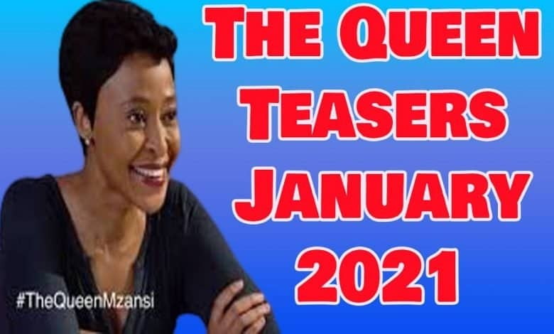 The Queen teasers January 2021