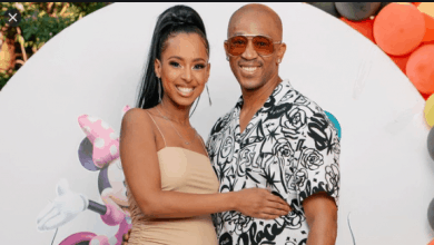 Photo of Pics! Theo Kgosinkwe And His wife Welcome Their First Child