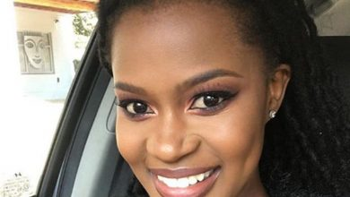 Photo of Zenande Mfenyana Revealed That She Is Married Women Now