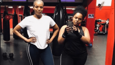 Photo of Connie Ferguson and Her Daughter Wearing Swim Wear, Who Wore It Best?