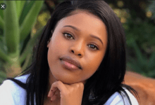 Photo of Natasha Thahane Is Feeling Homesick