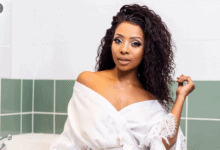 Photo of Pearl Modiadie Shares A Special Moments With Her Son And Baby Daddy