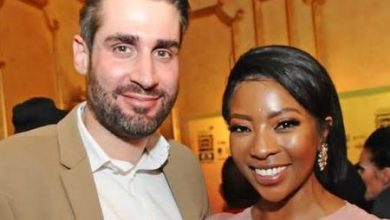 Photo of Tweeps React To Age Gap Between Pearl Modiadie And Her Baby Daddy