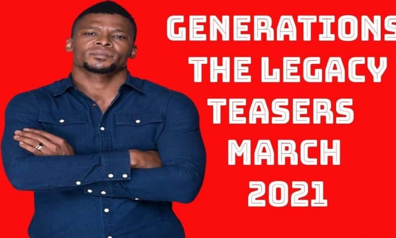 Generation The Legacy teasers March 2021