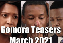 Photo of Coming Up On Gomora March 2021 [Gomora Teasers – March 2021]
