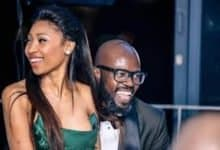 Photo of Enhle Mbali Rubs It In Black Coffee's Face