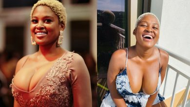Photo of Isibaya actress Asavela  exposed for sleeping with married Businessman