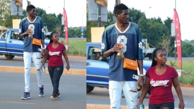 Photo of Mzansi's Tallest Man And His Bae Showing Off Their Love