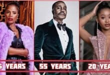 Photo of House Of Zwide Actors And Their Ages In Real Life (Arranged From Youngest – Old)