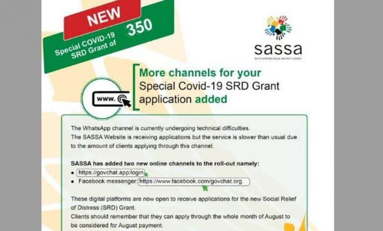 New Ways On How To Apply For R350 SASSA Grant
