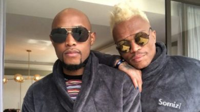 """Photo of Mohale Motuang  """"Somizi threatened to kill me with a kitchen knife"""""""